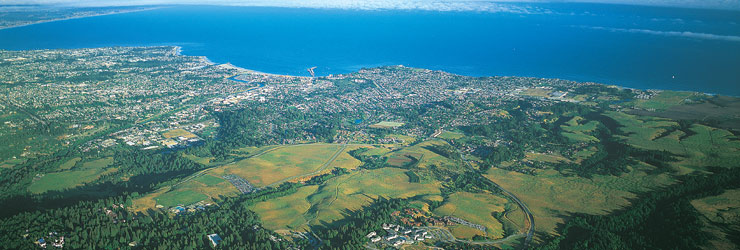 Aerial View of UC Santa Cruz